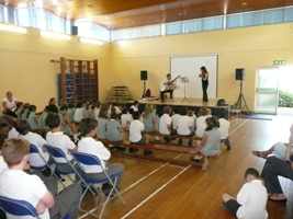 Tessitori Duo at Springfield School
